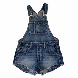 AEO Shorts Romper Overall Size Small GUC